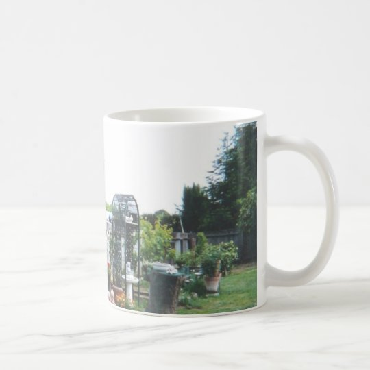 Backyard_angels_sitting Coffee Mug