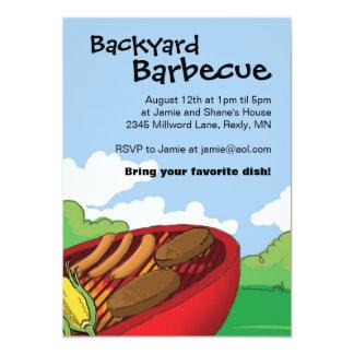 Backyard Barbecue Invitations
