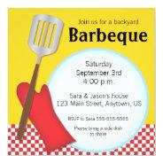 Backyard Barbeque invitation at Zazzle
