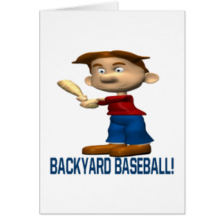 Backyard Baseball Card