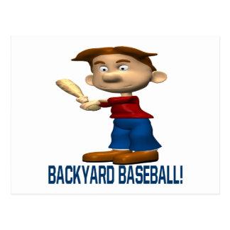 Backyard Baseball Postcard