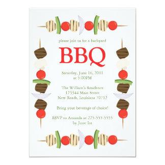 Backyard BBQ 5x7 Paper Invitation Card
