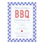 Backyard BBQ |Fourth of July Party Invitation