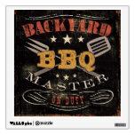 Backyard BBQ Master Room Decal