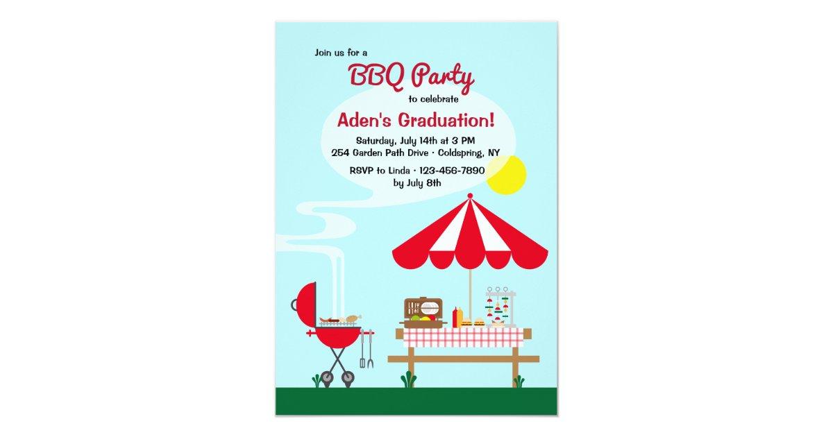 Backyard Bbq Wedding Invitations: Backyard BBQ Party Invitation