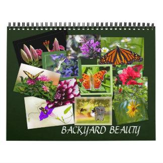 Backyard Beauty Calendar