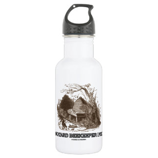 Backyard Beekeeper Inside (Beehive In Garden) Stainless Steel Water Bottle