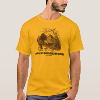 Backyard Beekeeper Inside (Beehive In Garden) T-Shirt