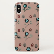 Backyard Bird Design iPhone X Case