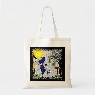 Backyard Birding Canvas Bag