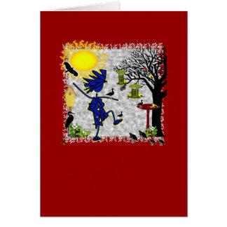 Backyard Birding Card