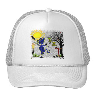 Backyard Birding Trucker Hat