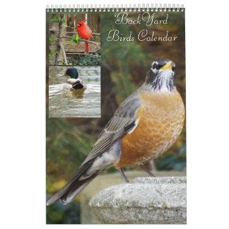 BackYard birds calendar