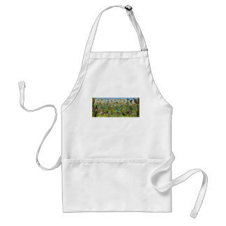 Backyard Birds of the West Adult Apron