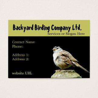 Backyard Birdwatching Supply Business Cards