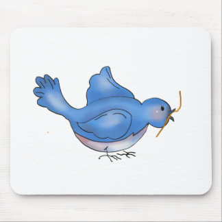 Backyard Buggies · Blue Bird Mouse Pad