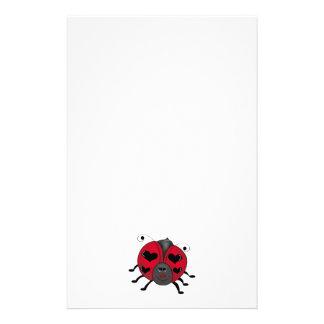 Backyard Buggies · Smiling Ladybug Stationery