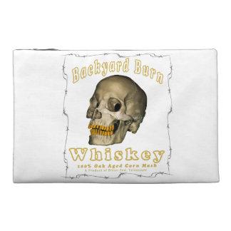 Backyard Burn Whiskey Travel Accessory Bag