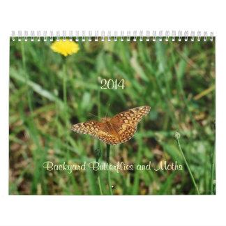 Backyard Butterflies and Moths Calendar