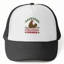 Backyard Chicken Farmer Trucker Hat