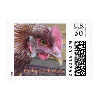 Backyard Chicken Stamp