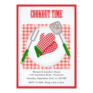 Backyard Cookout Card