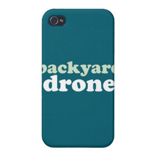 """Backyard Drone"" iPhone 4 Cases"