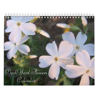 BackYard flowers Calendar