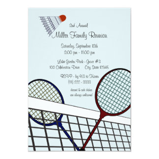 Backyard Games/ Badminton Card