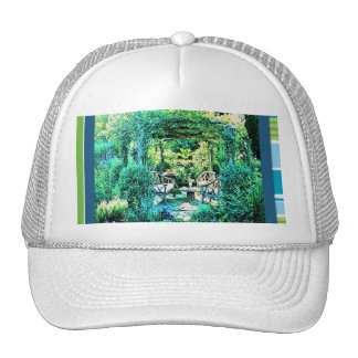 Backyard Garden Cap Trucker Hat