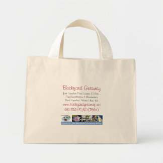 Backyard Getaway tote bag