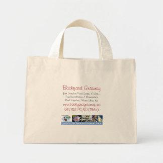 Backyard Getaway tote bag
