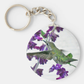 Backyard Hummingbird Keychain