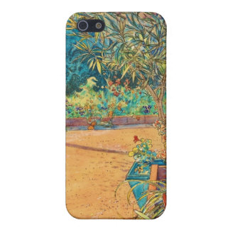 Backyard in the Summer Case For iPhone SE/5/5s