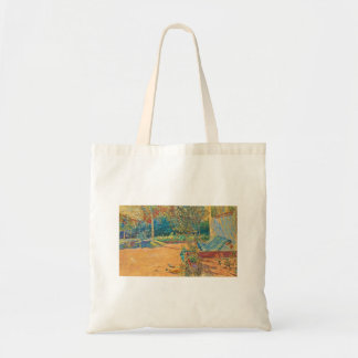 Backyard in the Summer Tote Bag