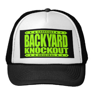 BACKYARD KNOCKOUT - Concussions in the Hood, Lime Trucker Hat