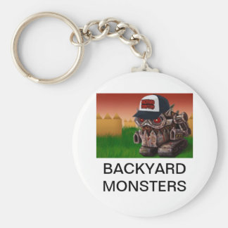 BACKYARD MONSTERS KEYCHAIN