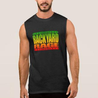 BACKYARD RAGE - Wild Kickboxing in the Hood, Rasta Sleeveless T-shirt