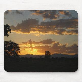 BAckyard Sunset Mouse Pad