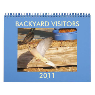 BACKYARD VISITORS CALENDAR