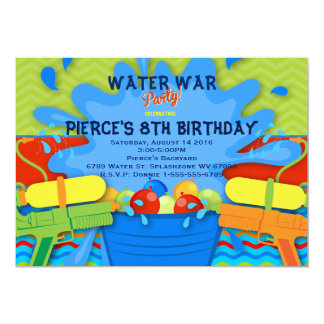 water party invitations & announcements | zazzle, Party invitations