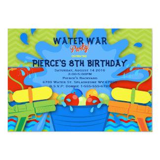 Backyard Water Party Invitation