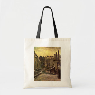 Backyards of Old Houses, Antwerp; Vincent van Gogh Budget Tote Bag