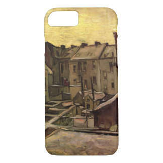 Backyards of Old Houses by Vincent van Gogh iPhone 8/7 Case