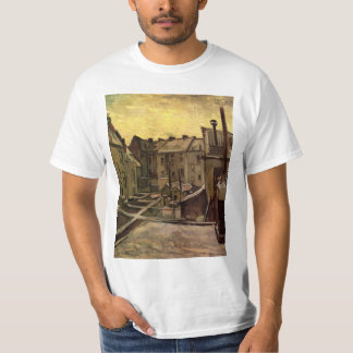 Backyards of Old Houses by Vincent van Gogh T-Shirt