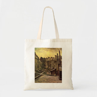 Backyards of Old Houses by Vincent van Gogh Tote Bag