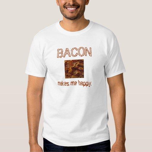 bacon-05, TOCINO, me hace feliz Camisas