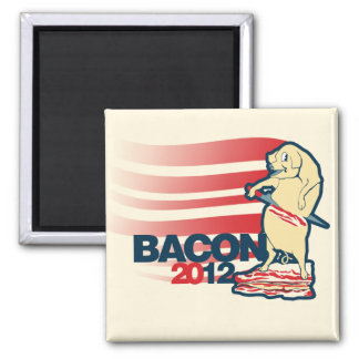 Bacon 2012 2 inch square magnet