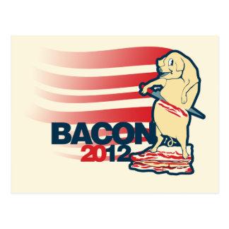 Bacon 2012 postcard