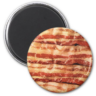 bacon, 2 inch round magnet